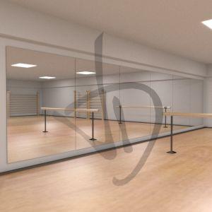 Specchi modulari per grandi ambienti