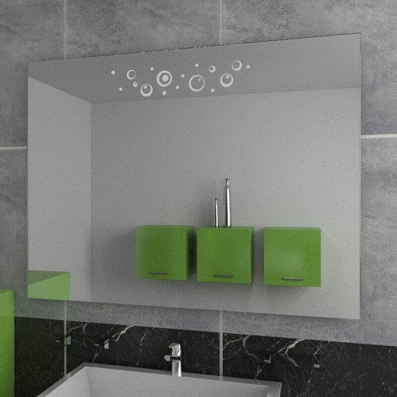 Specchio da bagno specchio con decoro specchi decorati - Specchi on line ...