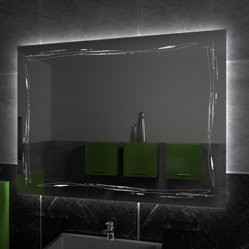 Specchio decorato online specchi decorativi specchi for Specchi su misura on line