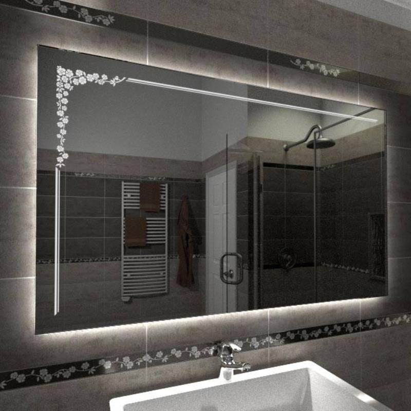 Specchio decorato online specchio su misura specchio con - Specchio su misura ikea ...