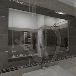 Specchio bagno, Specchio bagno con decoro, vendita online di specchi ...