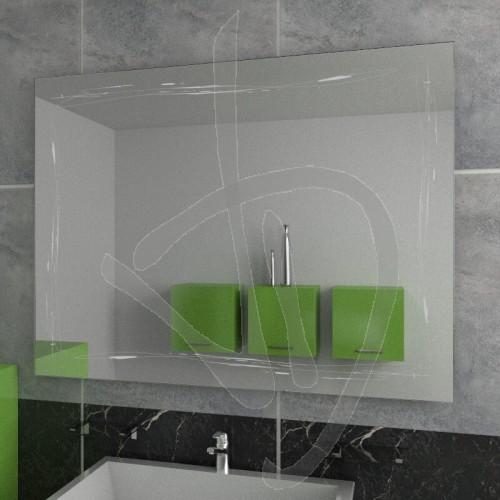 Specchio su misura specchio con decoro specchio decorato for Specchi su misura on line