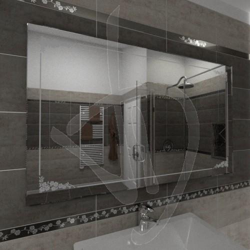 Specchi Decorati Per Bagno.Specchio Per Bagno Specchio Con Decoro Specchi Decorati Su Misura