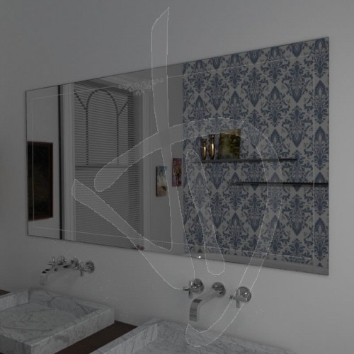 Specchi Artistici Da Bagno.Specchio Bagno Specchio Bagno Con Decoro Vendita Online Di