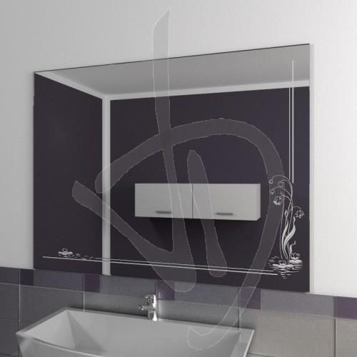 Specchio bagno, Specchio bagno con decoro, vendita online di ...