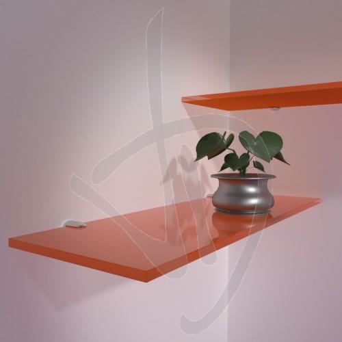mensole-arancioni-su-misura