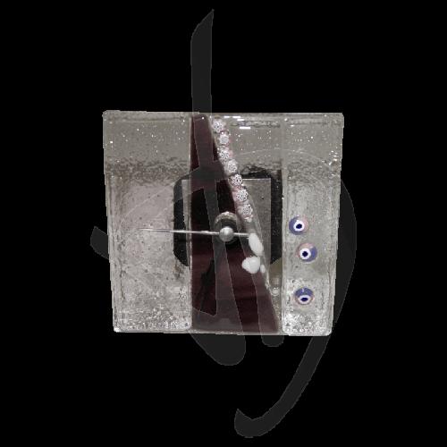 orologio-da-tavolo-in-vetro-di-murano-tonalita-viola-scuro-realizzato-a-mano