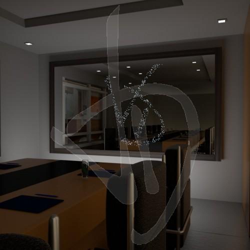 specchio-luminoso-con-logo-personalizzato-e-con-cornice-rivestita-in-legno-varie-finiture