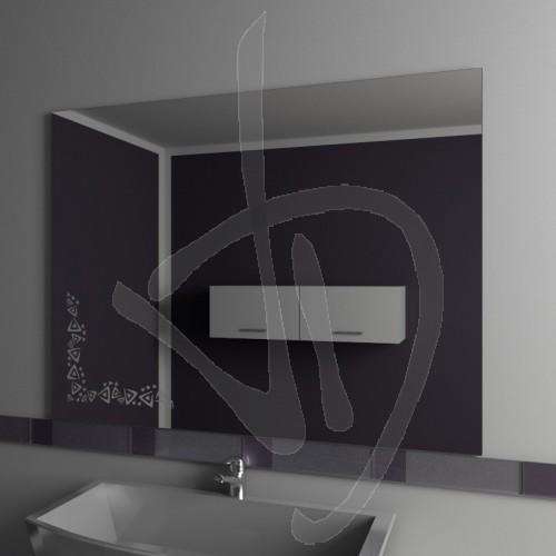 Specchio bagno specchio bagno con decoro vendita online - Configuratore 3d bagno ...