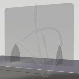 Parafiato in Plexiglass Trasparente su misura, senza passacarte