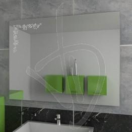 Specchio decorativo, con decoro A029