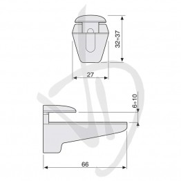 reggimensola-per-carichi-leggeri-misure-h32-37xl66-sp-6-10-mm