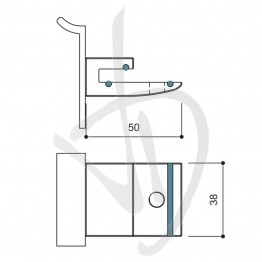 reggimensola-per-carichi-leggeri-misure-h38xl50-sp-8-mm