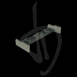 Accessorio bloccaggio modulare, Misure L84xH29.8 mm
