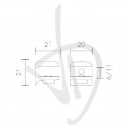 reggimensola-per-carichi-leggeri-misure-21xp21mm-spessore-vetro-6-11-mm