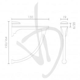 reggimensola-per-carichi-medi-misure-h150-164xp150-mm-spessore-vetro-6-20-mm