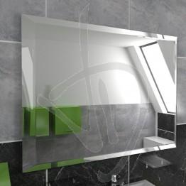 Specchio su misura, bisellato (bisello opzionale) e con pellicola posteriore