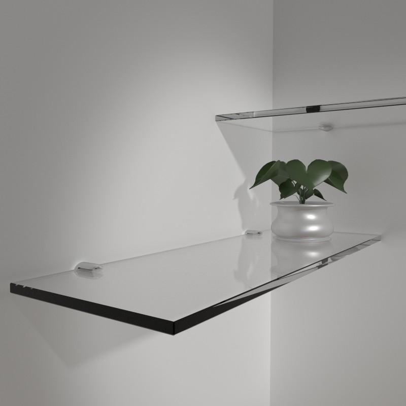 Mensole in vetro online mensole in vetro su misura for Vetro sintetico su misura