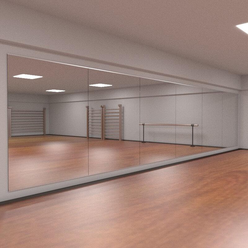 Parete a specchio specchi modulari parete a specchio - Specchi on line ...