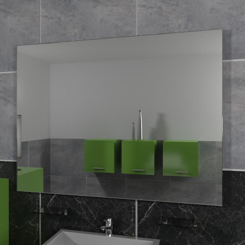 Specchio senza cornice specchio da parete specchio su for Specchi su misura on line