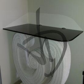 Mensola in vetro